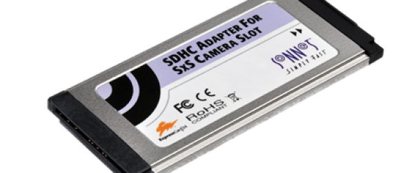 Carte SxS : Adaptateur SDHC Sonnet