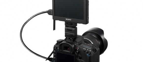 CLM-V55 de Sony : Moniteur HDMI pour DSLR