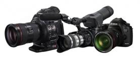 Dynamique Canon EOS C100 Vs 5D Mark III Vs Sony FS100