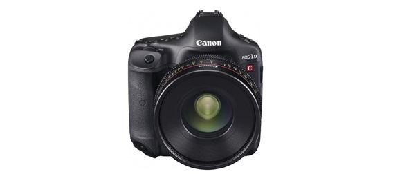 Du 4096/25p pour le Canon EOS 1D-C