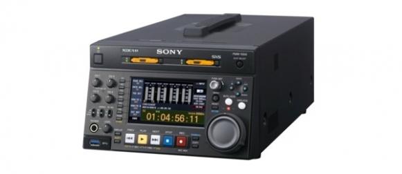 Sony PMW-1000 : Recorder SxS et XAVC