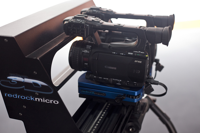 Rig 3D Micro - Canon XF105