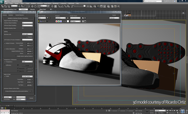 Autodesk 3DS MAx 2011 Interface