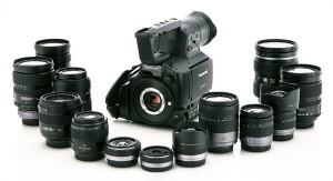 AF101 Panasonic Lens