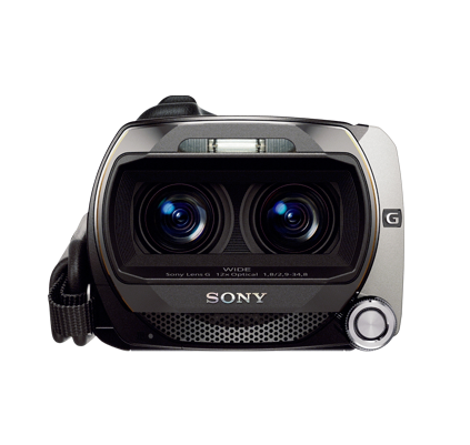 Sony 3D HDR-TD10 lens