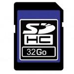 Carte SDHC 32Gb