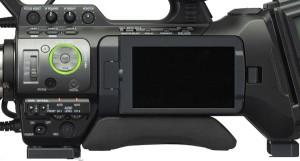 JVC GY-HM750 LCD