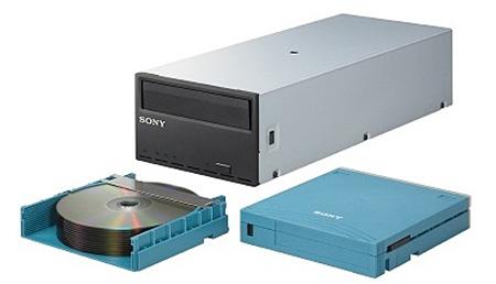 Archive sur Disque Sony