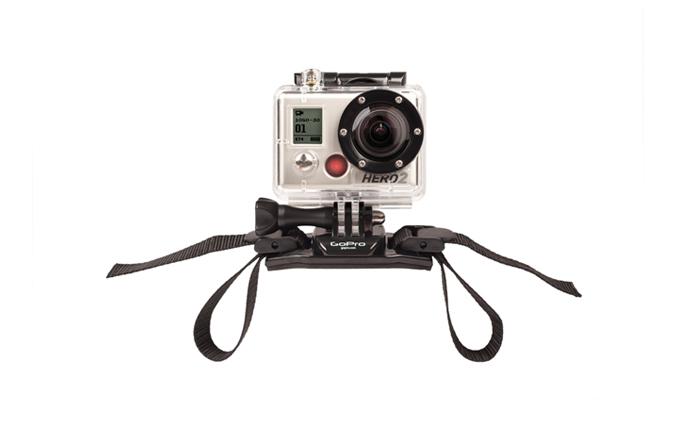 GoPro Hero 2 avec strap Casque