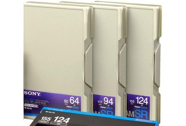 Cassette Sony HDCAM SR