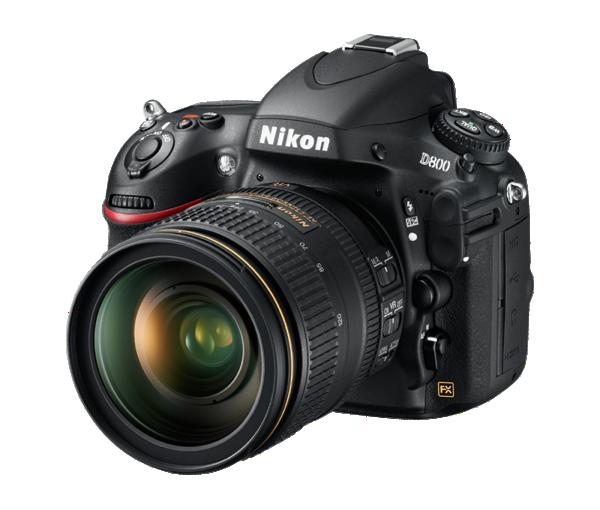 D800 Nikon Gauche