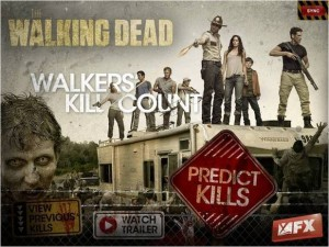 Second Screen App Walking Dead