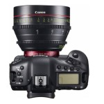 Canon EOS 1D-C Top with C Lens