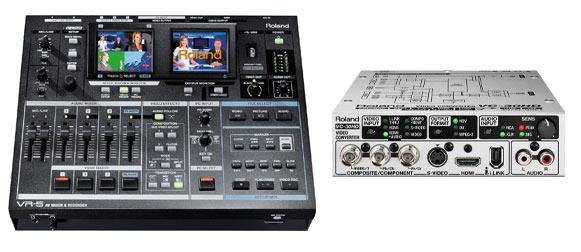 Roland VR3, VR5 - Enregistrement