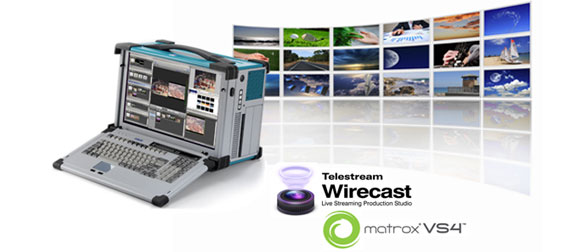 Wirecast 2013 Matrox VS4